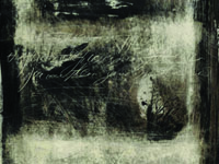 series 'In the black-black city ...', paper, monotype, 40x50 cm