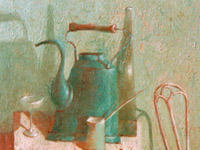 Blue Kettle, oil on canvas, 40х50 cm