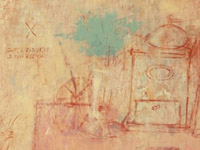 Still Life with Coffee Grinder and Telephone Numbers, acrylic on canvas, 60х70 cm, 2008