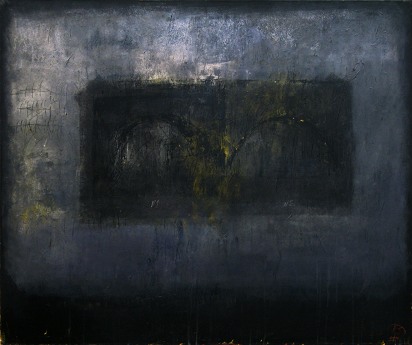 Bridge 1, acrylic on canvas, 100x120 cm, 2010