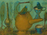 Tea with Milk, acrylic on canvas, 50x70 cm, 2012